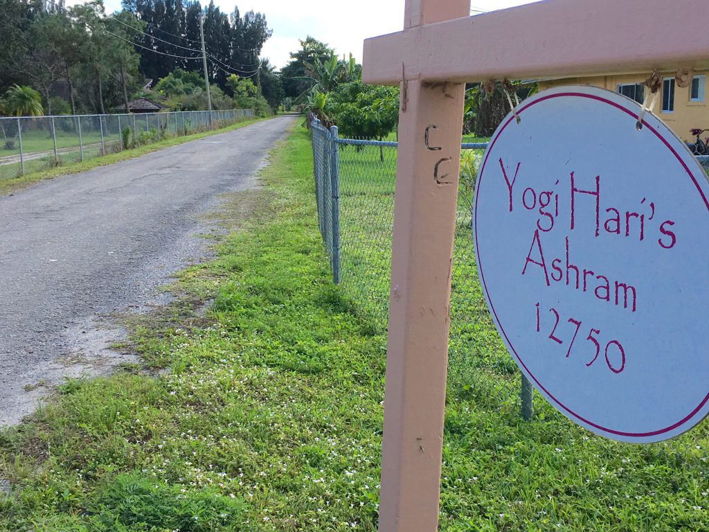 Entrance to Yogi Hari's Ashram