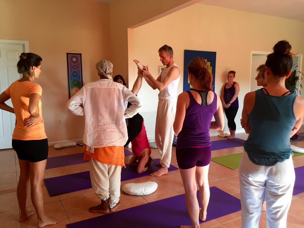Guided instruction teaching you how to teach Yoga