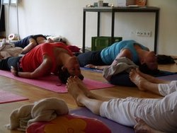Students of Sampoorna Yoga & Yogi Hari