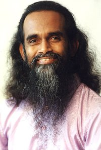Shri Yogi Hari, leader of Satsang at his ashram in Miramar, Florida